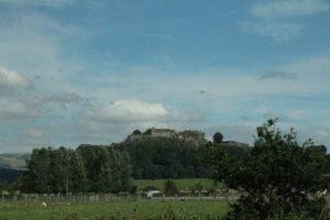 Castle seen from the highway.