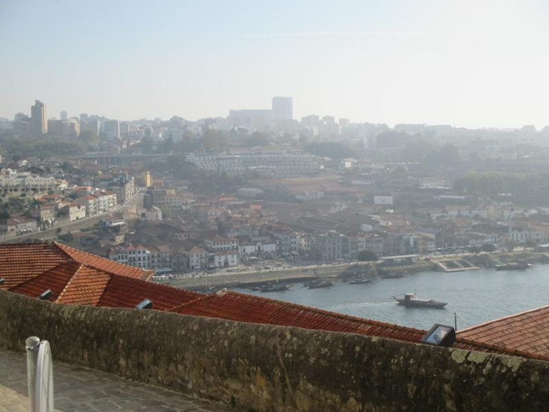 view across Duro River from Porto Cathedral