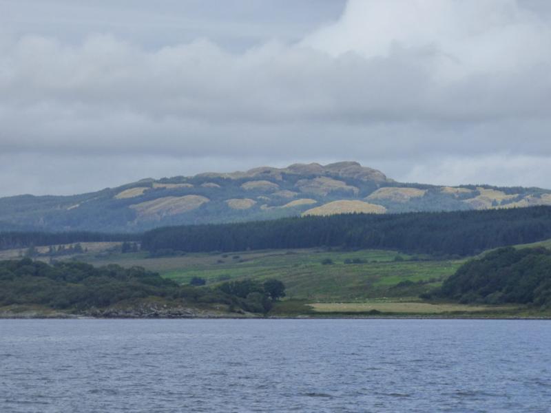 Scenery along Loch Fyne