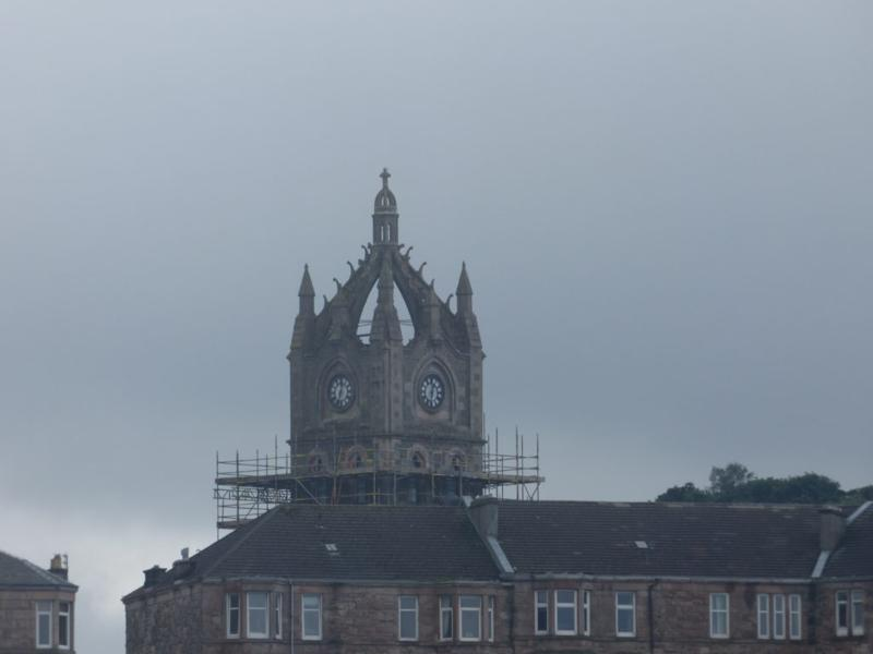 Church tower in Greenock